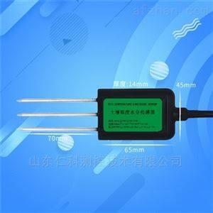 土壤温湿度传感器485高精度电导率4-20mA