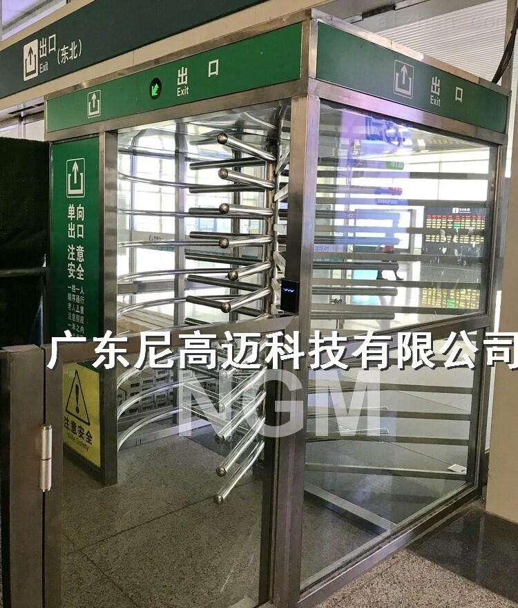 优质全高单向门 车站单项旋转门