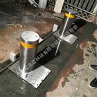 學校門外車道防沖撞立柱 自動不銹鋼升降柱
