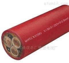 矿用移动监视型橡套电缆MYPTJ-6/10KV