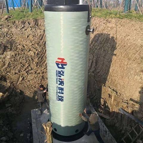 贵州一体化污水泵站玻璃钢提升泵站生产厂家