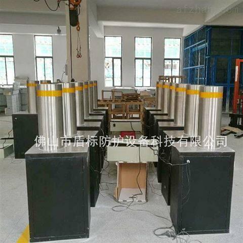 盾标防护电动液压加强型防撞阻车升降柱