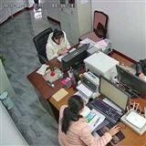 上海江杨南路监控安装网络结构布线海康威视