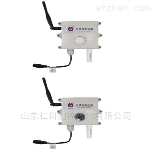 建大仁科无线光照度变送器记录仪