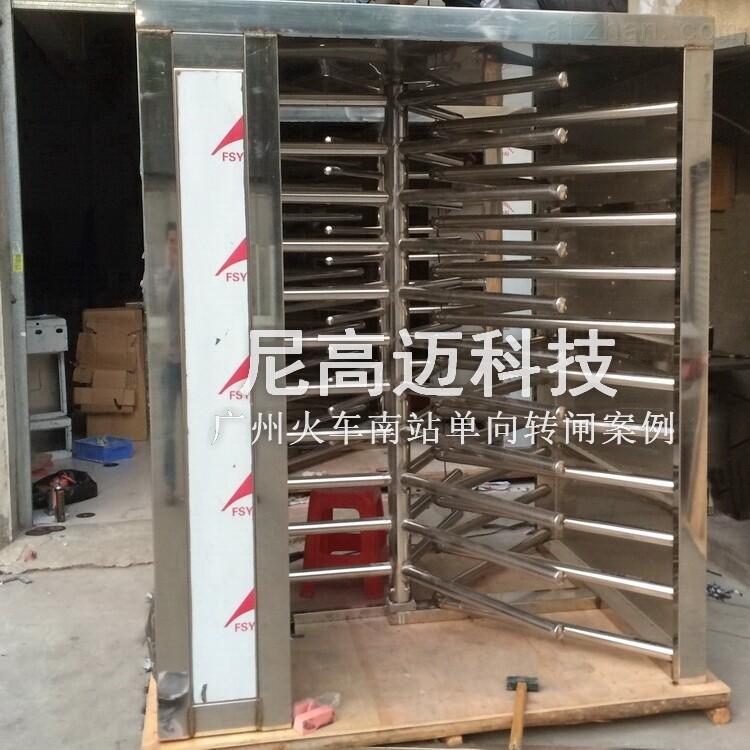 成品不锈钢单向梳状门定制