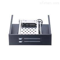 Unestech 光驱位2x2.5寸免工具硬盘抽取盒