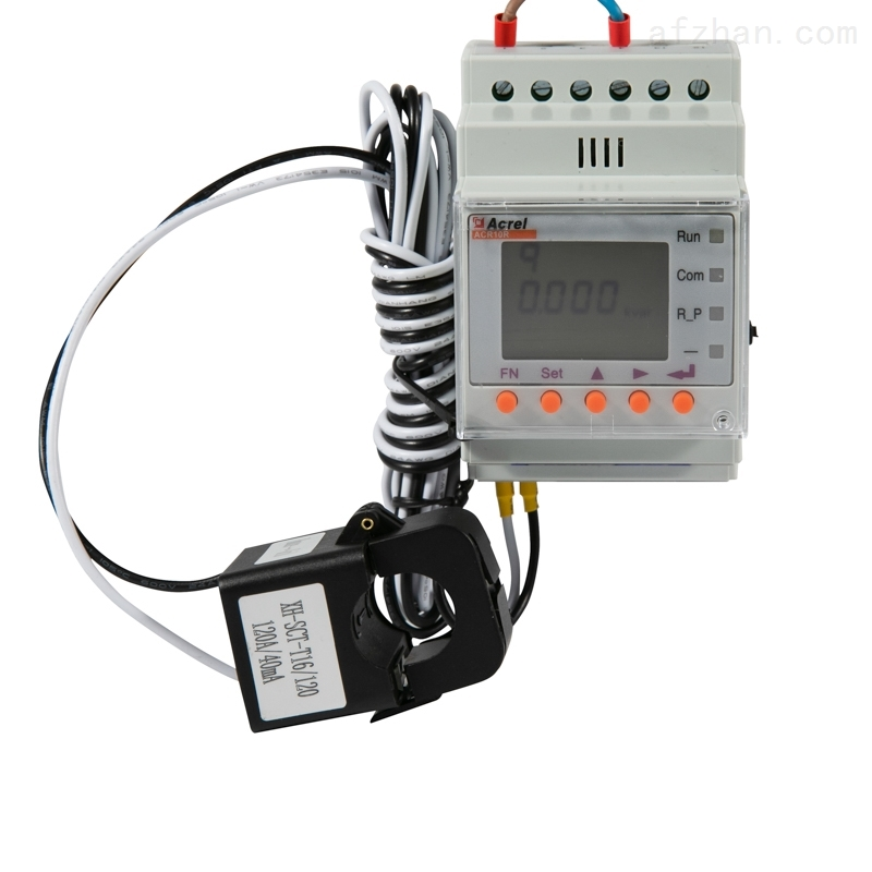 三相导轨网络电力仪表 外置互感器 可报警