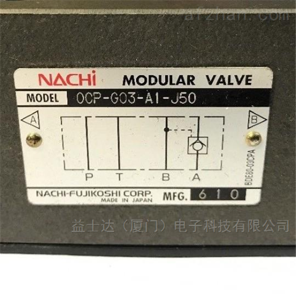 不二越NACHI电磁阀OR-G03-P3-J50