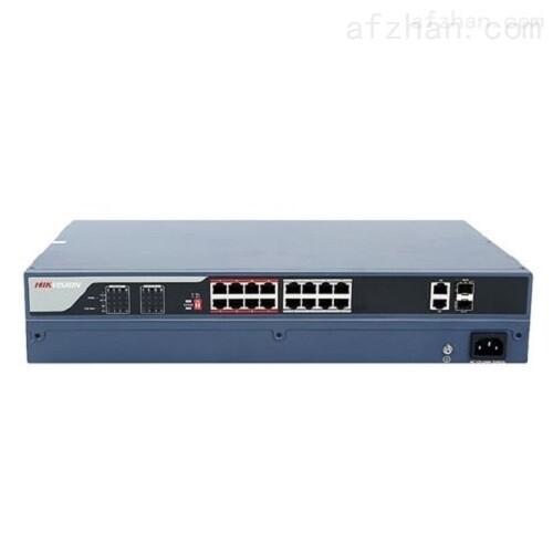 海康威视 非网管POE交换机18口百兆PoE电口