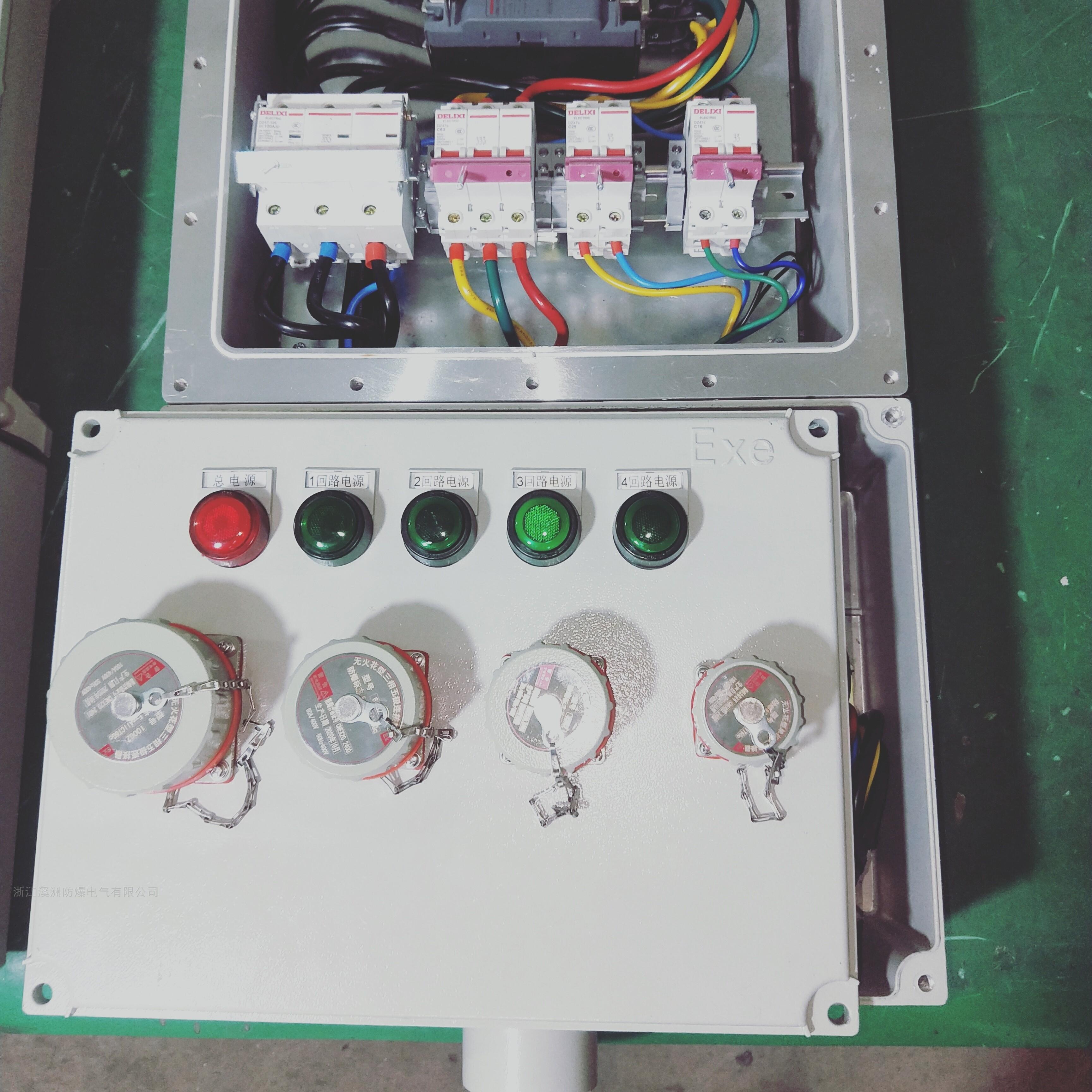 德力西元件防爆动力检修箱