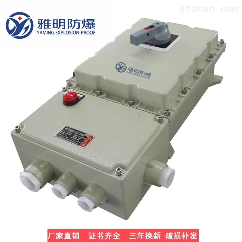 BDZ52-63A80A100AIIBT6防爆漏电断路器