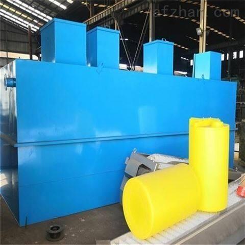 地埋式污水处理设备设计安装