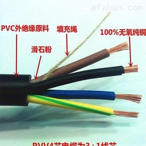 软芯电缆RVV16*0.2黑色护套线16*0.3