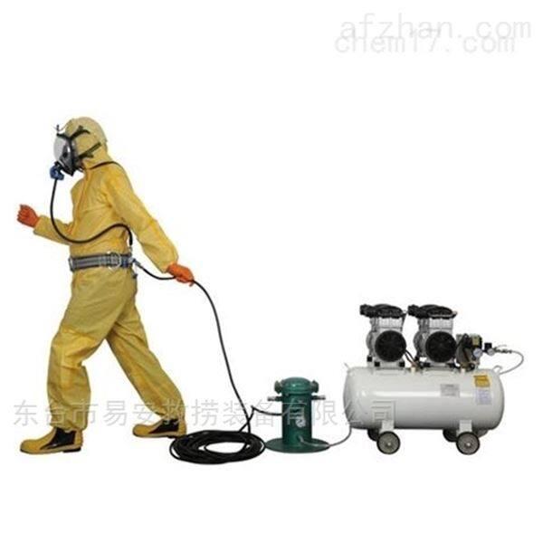四人电动无油型压缩空气泵式送风长管呼吸器