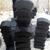 小中大型管道木托 空调木托防腐防震厂家