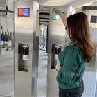 紅外測溫預警儀 體溫感應器 柱式消毒測溫計