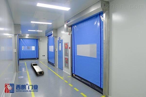 南京AGV智能联动快速卷帘门