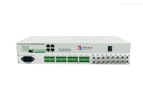 4E1+8路视频+4路千兆以太网+1-2路数据+16路业务槽位