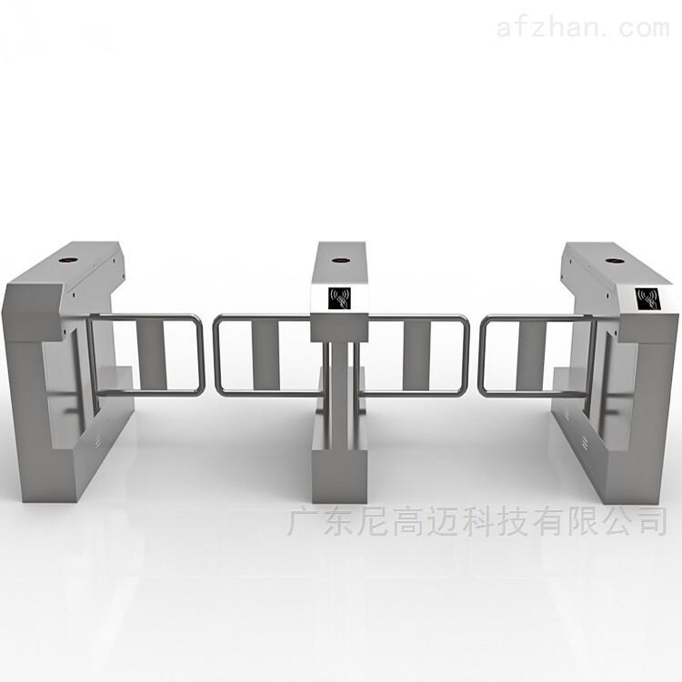 醫院出口單向橋式擺閘 不銹鋼自動感應道匝