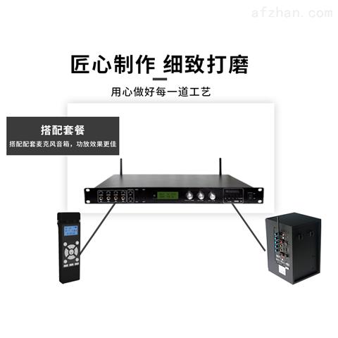 2.4G无线数字卡拉OK大功率舞台专业功放机