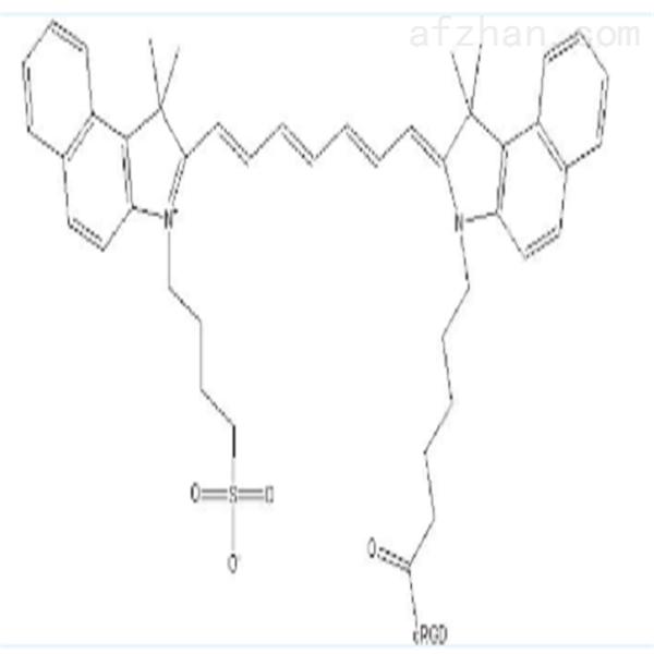 ICG-cRGD荧光标记环状靶向多肽
