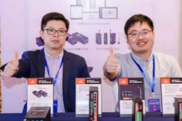 佰马科技携5G智慧杆网关,参加重庆智能跨界交流大会