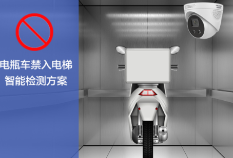 电瓶车禁入电梯智能检测方案