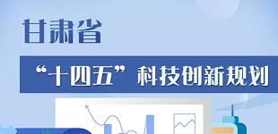 """一图了解甘肃省""""十四五""""科技创新规划"""