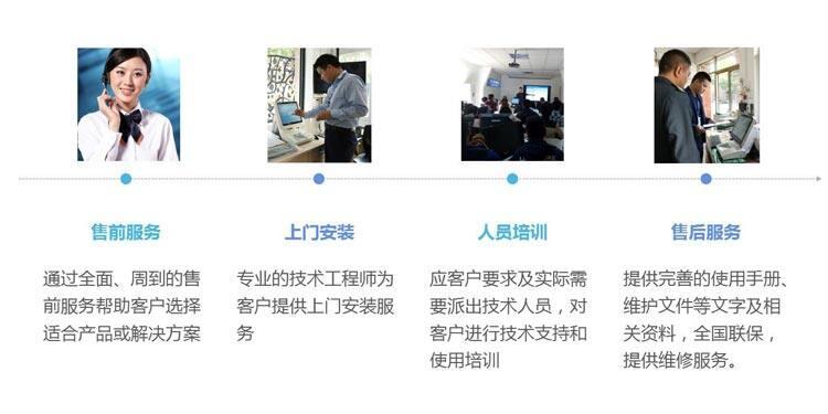 智能访客机服务体系