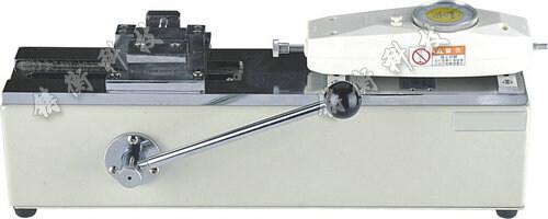 手動臥式測試台配置SGNK推拉力計效果圖