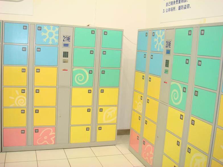 12门IC卡超市寄存柜