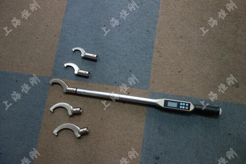 螺栓数显扭矩扳手图片(可配勾型头)