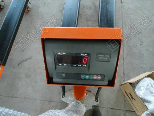液压电子叉车秤细节