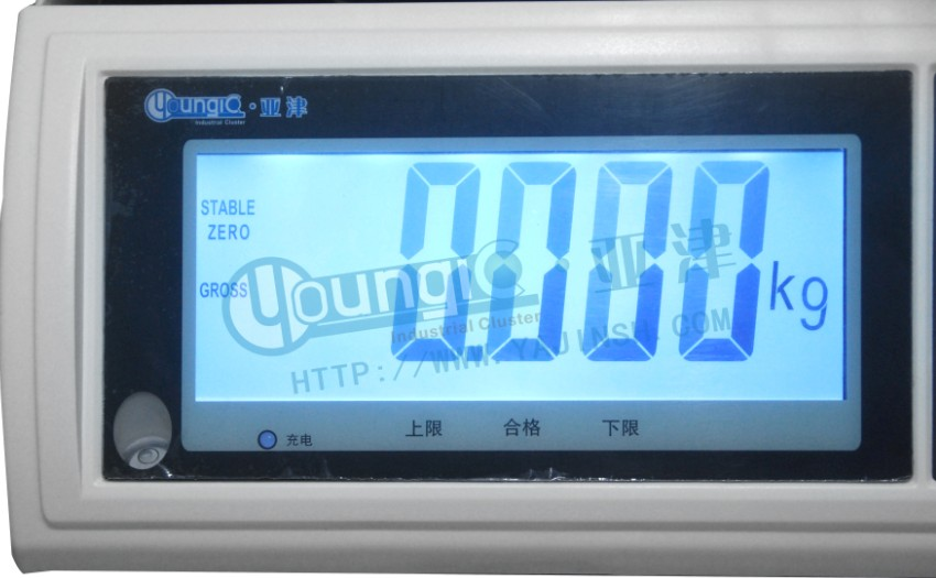 6kg低温检重电子计重桌秤